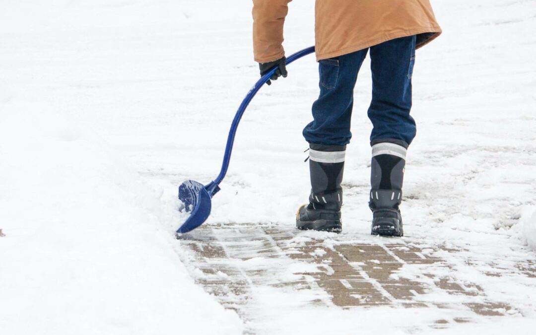 Winter's Here!  Shovel Right to Prevent a Back Injury!