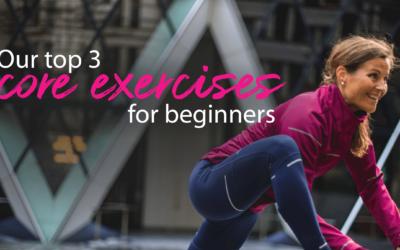 3 Beginner Core Exercises